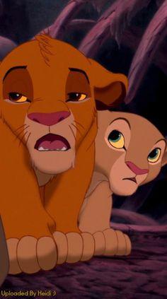 Simba and Nala Simba Et Nala, Lion King Timon, Disney Lion King, Disney Now, Disney And More, Walt Disney, The Lion King 1994, Lion King Movie, Pixar