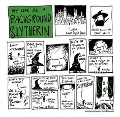 My Life As A Background Slytherin dump - Imgur