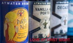 So many great beers, so little time. Atwater Brewery can't wait to help you get started.