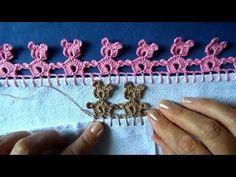Not in English. Bico em croche com ursinho - YouTube