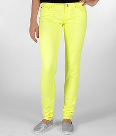 """""""Celebrity Pink Neon Skinny Stretch Jean""""  #buckle #fashion #colored jeans  www.buckle.com"""