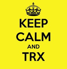 TRX keeping it calm... LOVE! Some of my favorite effective workouts!