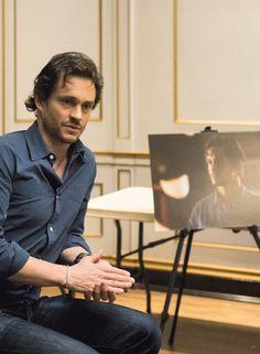 Hugh Dancy bts Hannibal Season 3