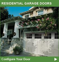 Clopay and Amarr residential garage doors