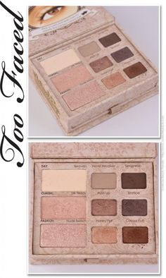 Too Faced Natural Eye Palette Review: One of My Go-To Eye Palettes for Work