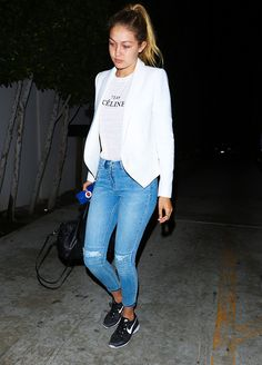 All the Sneakers Gigi Hadid Swears By via @WhoWhatWearAU