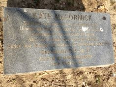 Headstone From the 1800's. Please take a moment to read it. Then think about how far we've come...