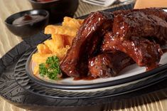 BBQ Bourbon Ribs recipe
