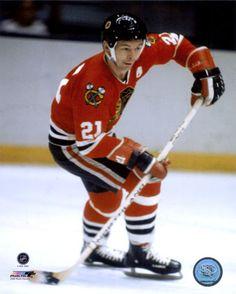 Stan Mikita..a hockey scoring machine.  Chicago Black Hawks