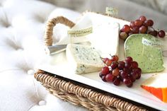 Effortless entertaining | a cheese display