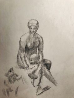 """Drawing of the sketch of """"Madonna in the meadow"""" by the painter Raphael (Renaissance) Raphael Paintings, Renaissance Paintings, Madonna, Pencil Drawings, The Past, Sketches, Art, Drawings, Art Background"""
