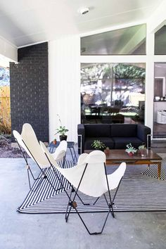 When Kirsten Grove first visited her 1957 mid-century modern Boise, ID home, it was the outdoor space that sold her right away. 'The patio was an instant win,' Kirsten shares. As an interior stylist and the blogger behind Simply Grove, Kirsten and her husband Shane knew they wanted to find a home in a specific style that they could renovate and make their own, with lots of space for their two kids, as well as entertaining guests. After moving in this past spring, the couple started w...