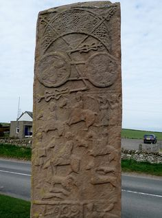 Aberlemno Sculptured Stone by Nigel's Best Pics, via Flickr