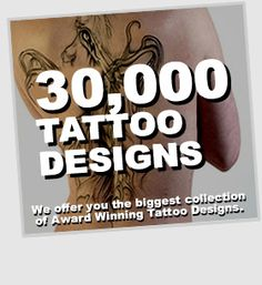 Are you searching for the perfect tattoo? Dream-Tattoos offers you the biggest collection of Award Winning Tattoo Designs. Search through our database to find over 30,000 exclusive tattoo designs.  Dream-Tattoos will help you in your search for your perfect tattoo.  Find your dream tattoo today!