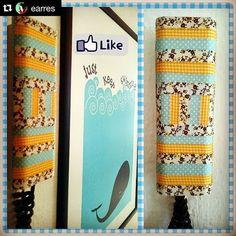 Mirad qué precioso le quedó el telefonillo a @earres maqueado con nuestros whasitape! ・・・ #Repost: Primera pueba washitapera superada. Nuestro telefonillo de la oficina era un horror. Ahora tiene color y da gusto verlo. Un paso más en la decoración de earres.com. Ahora solo faltan más ideas y tiempo.  #washitape #deco #decoración #hosten #keeponswimming #whale #yellow #blue #ballena #tape #earres #granada #ilovethisjob #dots #vichy #flowers #lunares #telefonillo