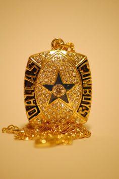 Dallas Cowboys Championship Pendant