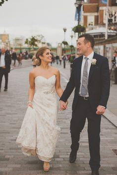 Paloma Blanca wedding dress, The Swan Shakespeares Globe Theatre, Photography by Nabeels Camera