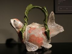 Fish teapot by Magie Smith Fleisher