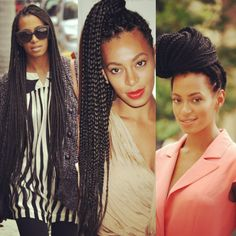 Long box braids-Solange knowles style