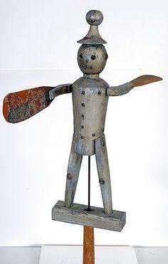 Tin Man Whirligig
