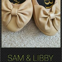 SAM & LIBBY bow flats New without tags Sam & Libby flats. Super cute for spring & summer. These are a necessity for any girls closet. Please ask any questions. Thanks for looking. Sam & Libby Shoes Flats & Loafers