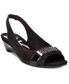 Anne Klein Harmonia Wedge Sandals