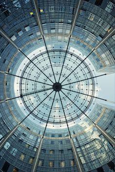 La defense - 1, Paris #architecture #Circle