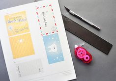 DIY Printable Tooth Fairy Notes - adorable! This time is coming soon … very loose tooth!