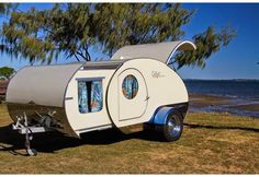 Push the Button: You won't Believe what Unfolds from this Tiny Retro Trailer | Photos | HGTV Canada