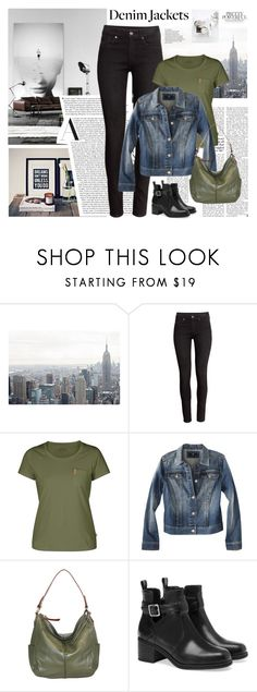 """""""Denim Trend: Jean Jackets"""" by roxy75 ❤ liked on Polyvore featuring H&M, Fjällräven, Mossimo, Nino Bossi Handbags and Pull&Bear"""