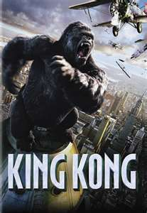 King Kong - In New York, an overly ambitious movie producer coerces his cast and hired ship crew to travel to mysterious Skull Island, where they encounter Kong, a giant ape who is immediately smitten with leading lady Ann Darrow. Skull Island, King Kong 2005, Kong Movie, Image Film, Jurassic, Indian Funny, Movie Producers, Streaming Hd, Funny Couples