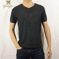 UK.Greiff.2015 New Summer Solid Man T-shirt Classic Short SleeveT- Shirts Men V-Neck Pullover Tops Tee Casual Men Shirts