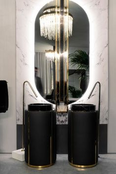 This gold and dark interiors are pure ellegance in a Bathroom. Add some into your home interiors with Maison Valentina design products like Darian Freestanding and Shield Mirror Eclectic Bathroom, Modern Bathroom, Bathroom Trends, Bathroom Ideas, Dark Interiors, Venetian Glass, Bathroom Furniture, Pure Products, Design Products