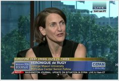 Veronique de Rugy explained her position on C-SPAN that most European nations are not engaging in true austerity measures and are instead increasing taxes and revenue without significantly cutting spending. She said their plans are making things worse, and that true budget cuts would help their economies recover. She responded a video clip of a May 23, 2012 Question Time in the British House of Commons, and to telephone calls and electronic communications.