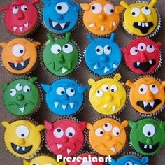Monster cupcakes mummydi
