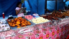 """This video was taken in El Valle, Anton (Panama), This type of food or Street Food is also known as """"comida de feria"""" or fairs food. Some of the food items a. Types Of Food, Food Items, Street Food, Panama, Anton, Writing, Youtube, Meals, Foods"""