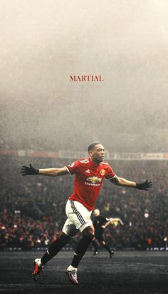 Martial l MUFC Jose needs to play this lad the right way cause he has everything u need in a top forward pace,skill,strenght, physicle power great in the air Manchester United Wallpaper, Manchester United Football, Football Tattoo, Anthony Martial, Jersey Atletico Madrid, United We Stand, Soccer Quotes, Football Memes