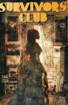 Survivors' Club (2015) #9 #Vertigo #DC @vertigo_comics #SurvivorsClub (Cover Artist: Bill Sienkiewicz) Release Date: 6/1/2016