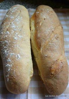 Barras de pan caseras Thermomix