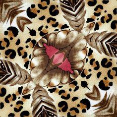 Tecidos animais e flores # 3
