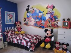 disney room decor mickey mouse room decoration - Disney Bedroom Designs