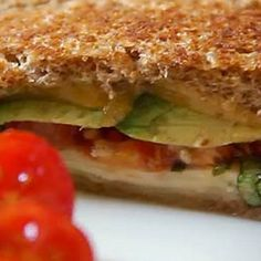Can't resist a grown up grilled cheese sandwich.  How about you? #mossmountainfarm #delicious #cheese #gardenrecipes #myrecipe #homemade #sharethebounty #bonnieplants #tomatoes