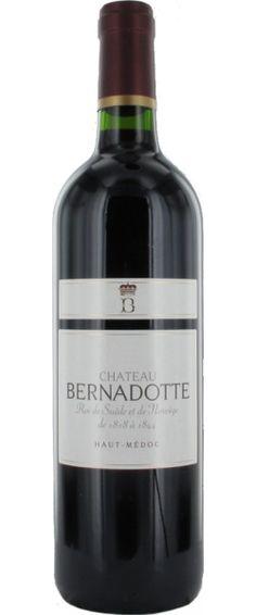 Château Bernadotte 2011 : Un beau vin souple et suave, jolie matière, de la rondeur.    En savoir plus : http://avis-vin.lefigaro.fr/vins-champagne/bordeaux/medoc/haut-medoc/d12628-chateau-bernadotte/v12629-chateau-bernadotte/vin-rouge/2011##ixzz2MqdyU9gS