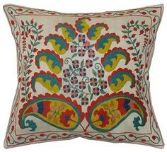 Suzani Tree pillow from Gallerie Aust