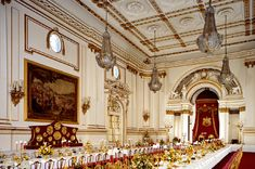 Royal Interiors: What's Happening at Buckingham Palace Today? Palais De Buckingham, Buckingham Palace London, Palace Interior, Medieval, State Room, London History, Castle Wall, Royal Residence, British Royal Families
