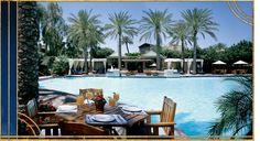 Cabana Club: poolside restaurant & swim-up bar. AZ Biltmore in Phx
