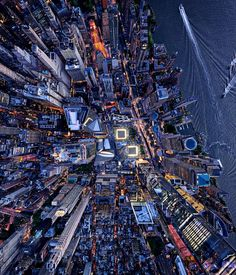 New York From Above: Spectacular Aerial Photography by Andrew Griffiths #photography