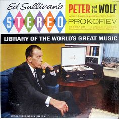 ed sullivan's stereo. and he sure looks like he's enjoying it. Lp Cover, Cover Art, Famous Musicals, Worst Album Covers, The Ed Sullivan Show, Bad Album, Pochette Album, Vinyl Cd, Vinyl Junkies
