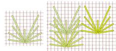 Vee stitch - click to enlarge