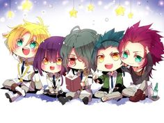 Kamigami No Asobi. That's my favorite anime of all time. Hades it'so kawaii. Who cares? I love them all :